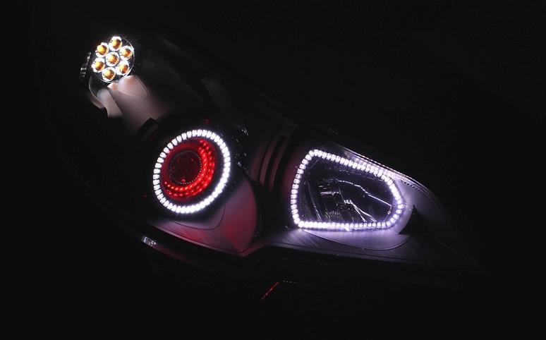 Видео светодиодные фары